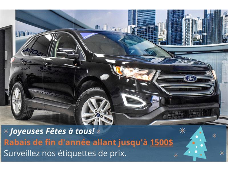 Ford Edge SEL   2.0L AWD, CAMERA & SONAR 2018