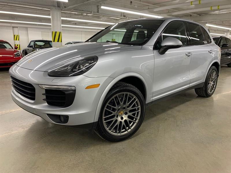 Porsche Cayenne Platinum Edition, Premium Pack 2018