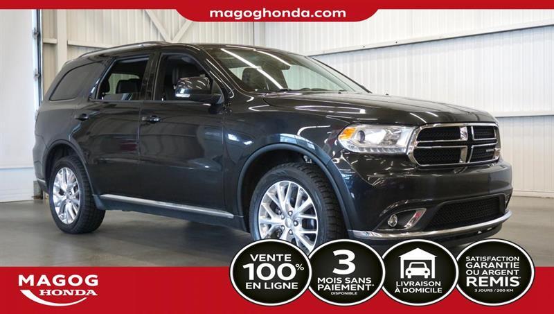 2016 Dodge  Durango Limited+AWD+toit+Bluetooth+cui