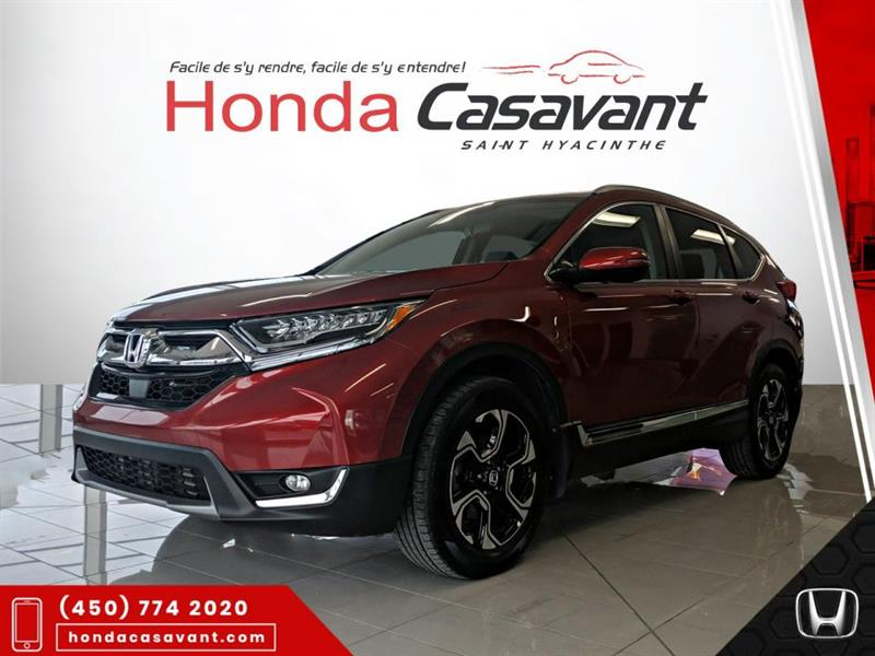 Honda CR-V TOURING AWD **CARPLAY+SIEGES E 2018
