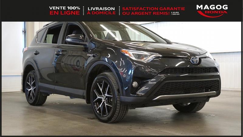 2018 Toyota  RAV4 SE+AWD+Hybrid+caméra+cuir+navi