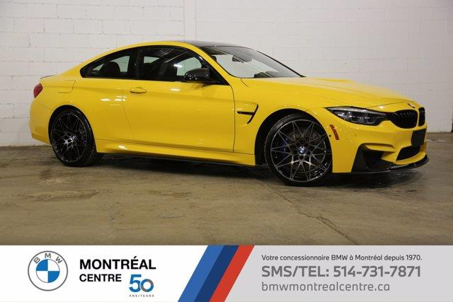 BMW M4 Speed Yellow(Individual)Ultima 2018
