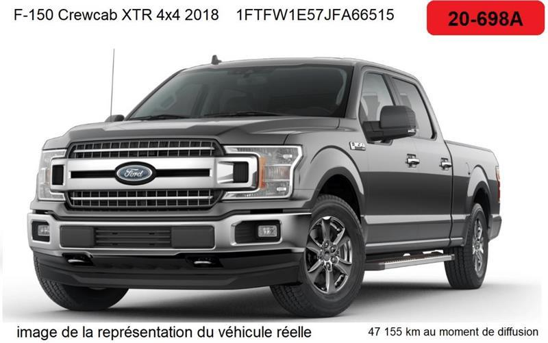 2018 Ford  F-150 XLT cabine SuperCrew 4RM caiss
