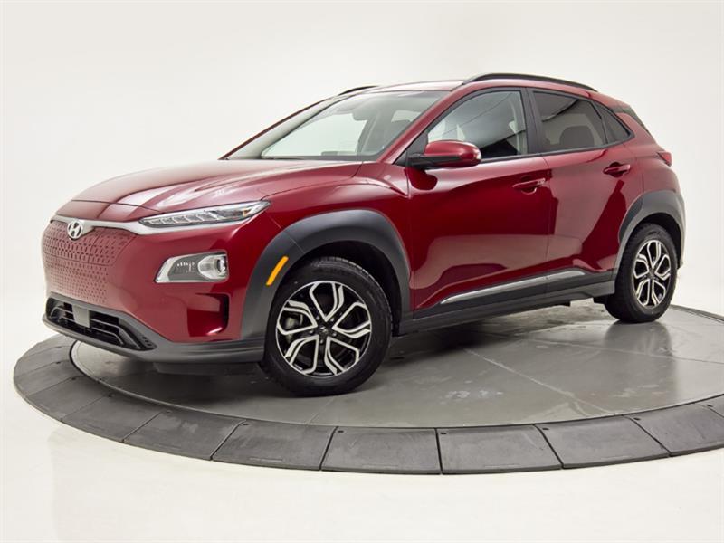 Hyundai Kona ULTIMATE EV 100% ÉLECTRIC CUIR 2021
