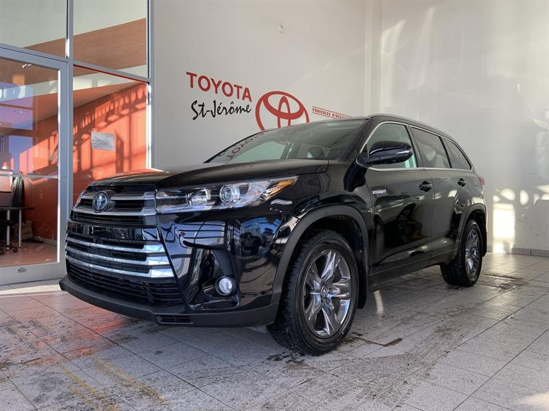 Toyota Highlander Hybrid 1