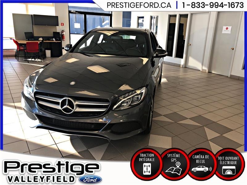 2015 Mercedes-Benz  C300 C300 Matic - GPS - TOIT Garant