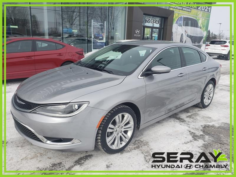 2016 Chrysler  200 4dr Sdn Limited FWD, MAGS, BLU