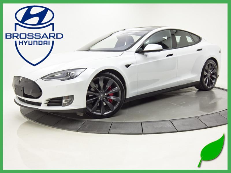 Tesla Model S P90D CARBONE PACK LUDICROUS+ A 2016