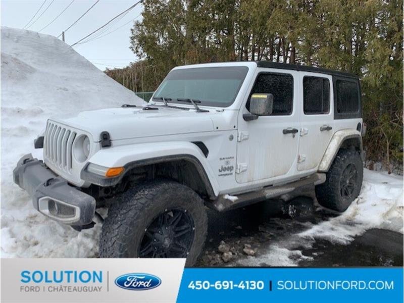 2018 Jeep  Wrangler Unlimited UNLIMITED + SAHARA + CUIR + GP