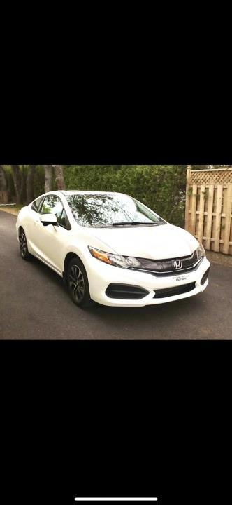 2014 Honda Civic 2 portes, boîte manuelle EX