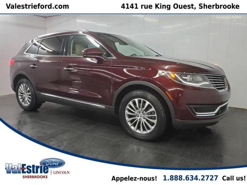 2017 Lincoln  MKX SELECT/CUIR/TOITGPS