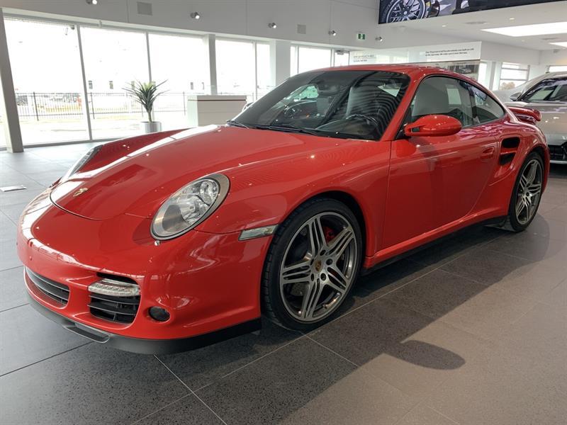 Porsche 911 Turbo, coupé, sport chrono plu 2007