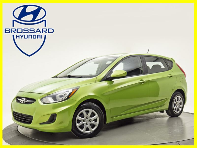 Hyundai Accent MAN GL A/C CRUISE SIEGES CHAUF 2013