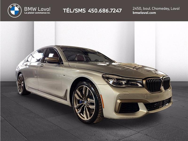 BMW Série 7 M760Li xDrive V12, Rare! Cuir  2019