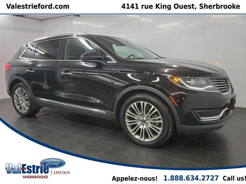 2017 Lincoln  MKX RESERVE/CUIR/TOIT PANO/GPS