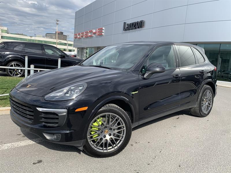 Porsche Cayenne S E-Hybrid Platinum Premium Pa 2018