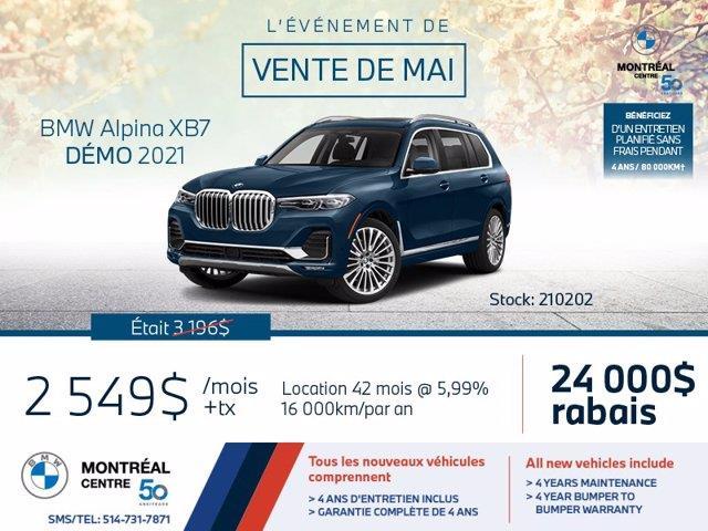 BMW X7 ALPINA XB7, Premium, Attache R 2021