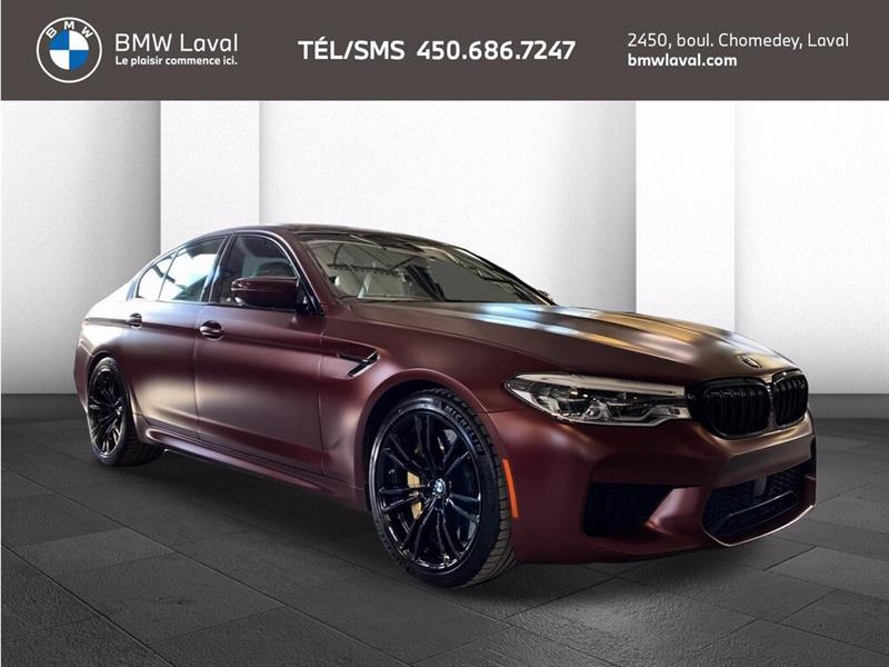 BMW M5 SEDAN, Premiere Edition! Frein 2018
