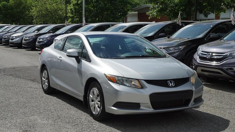 2012 Honda  Civic LX COUPE+BLUETOOTH+JAMAIS ACCI