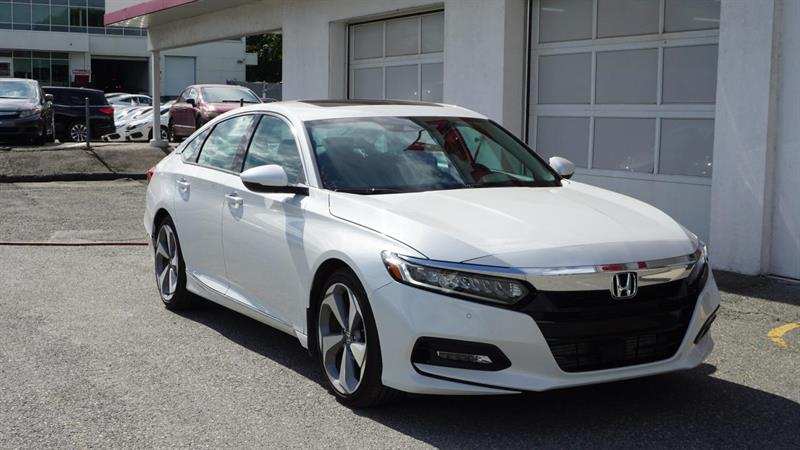 2018 Honda  Accord TOURING BERLINE+CUIR+TOIT OUVR