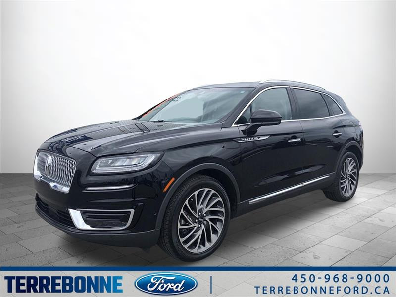 Lincoln Nautilus RESERVE - AWD - CUIR - GPS - T 2019