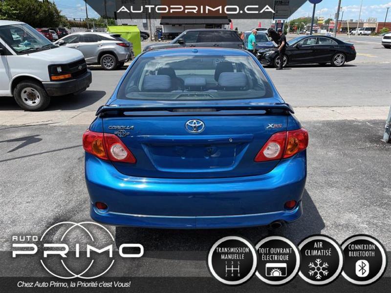 toyota Corolla 2009 - 2
