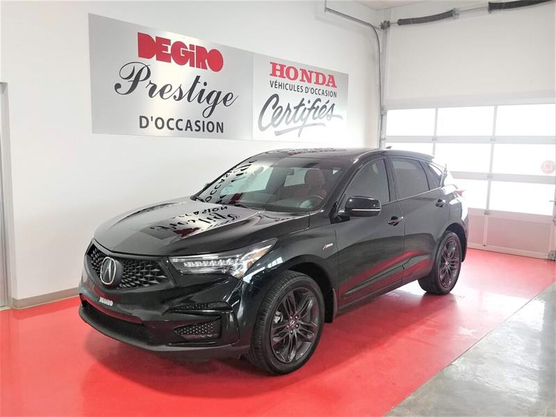2021 Acura  RDX A-Spec AWD INT. CUIR ROUGE!!
