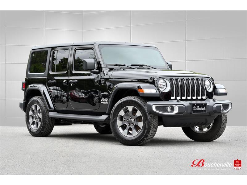 Jeep Wrangler 2020 SAHARA * 4 PORTES * 2 TOIT * H