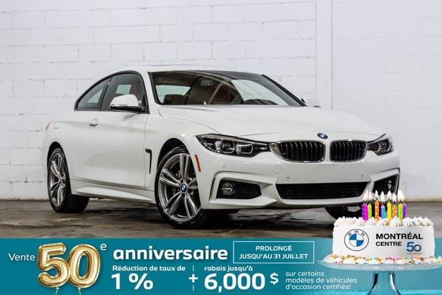 BMW Série 4 2018 430i xDrive Coupe, Premium amé