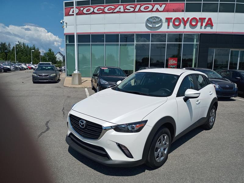 2019 Mazda CX-3 GX  AWD ** 34 702 KM ** AUTOMA