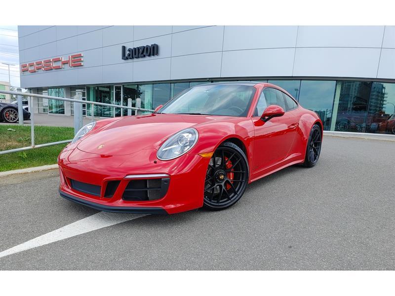 2018 Porsche 911 4 GTS Groupe Premium, Sport Ex