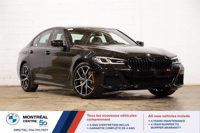 BMW Série 5 2021 xDrive, Premium, M Sport, Cuir