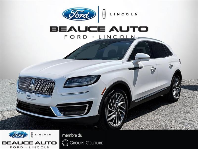 2019 Lincoln  Nautilus ULTRA + REG ADAPTATIF+ CAMERA