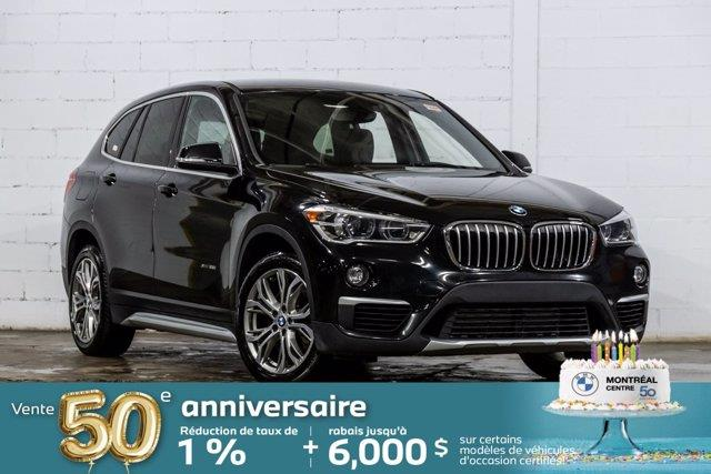 BMW X1 2018 xDrive28i, Roues 18 po, Caméra