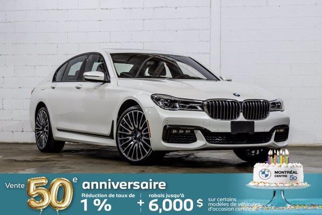 BMW Série 7 2019 750i xDrive, Groupe Exécutif,