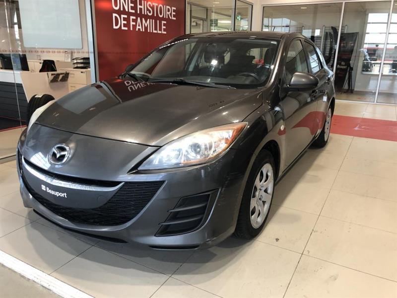Mazda Mazda3 2010 Hayon 4 portes Sport, boîte ma