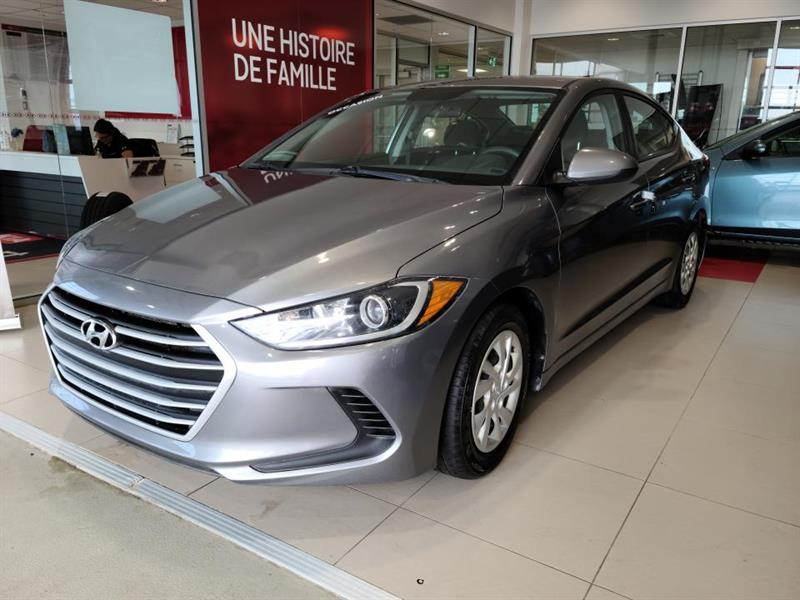 Hyundai Elantra 2018 L manuelle