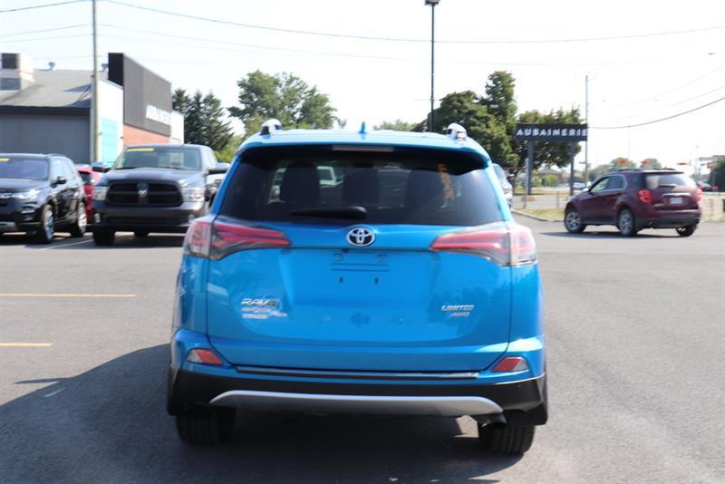 toyota RAV4 AWD LIMITED 2016 - 18