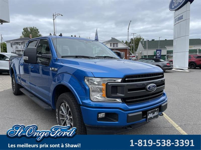 Ford F-150 2020 XLT cabine SuperCrew 4RM caiss