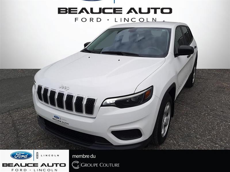 2019 Jeep  Cherokee SPORT + AUTOMATIQUE + SEULEMEN