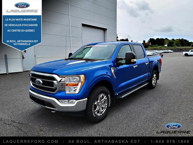 Ford F-150 2021 XLT cabine SuperCrew 4RM caiss