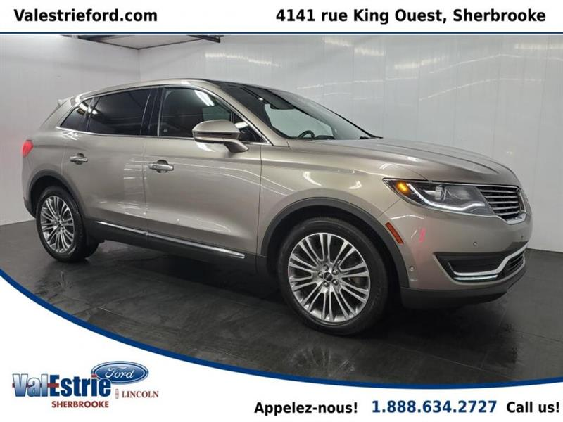 Lincoln MKX 2018 RESERVE/CUIR/TOIT PANO/GPS/V6
