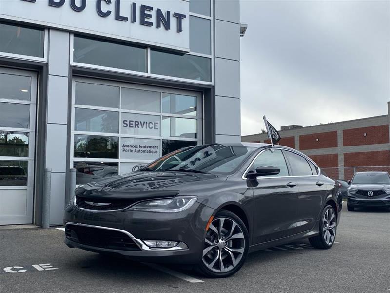 Chrysler 200 2015 C ** GPS ** 6 CYL **