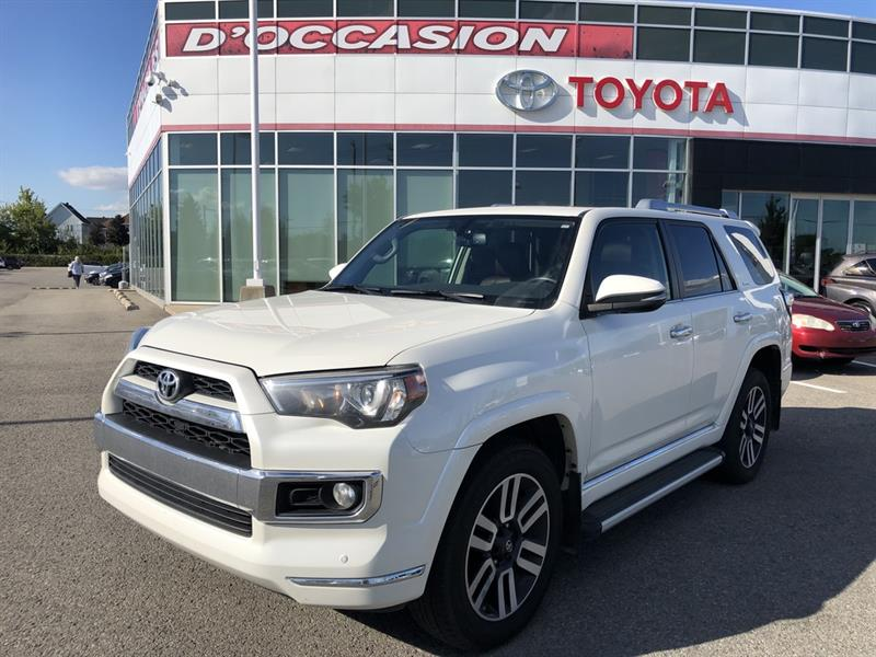 Toyota 4Runner 2018 LIMITED **5 passagers ** CUIR/