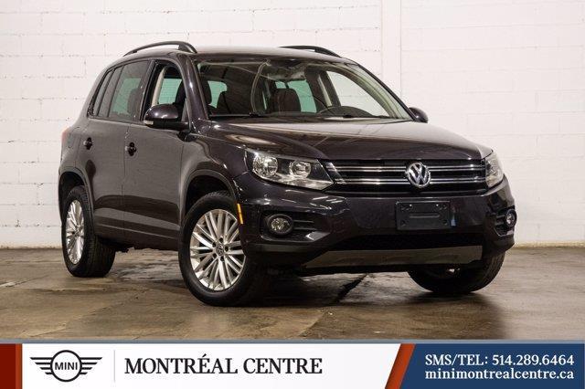 Volkswagen Tiguan 2016 Comfortline 2.0T avec Tiptroni
