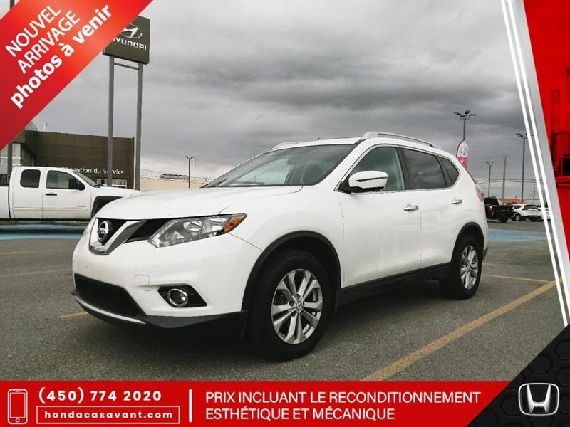 2016 Nissan  Rogue AWD, SV, 7 PLACES