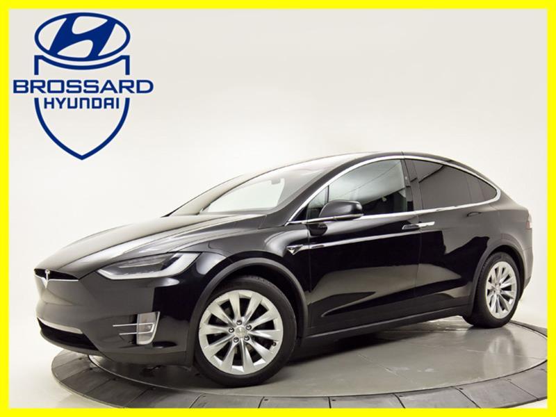 2018 Tesla Model X 75D 6 PLACES AUTO PILOT  BAS M