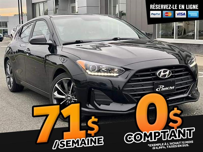 Hyundai Veloster 2019 GL  AUTOMATIQUE 2.0L