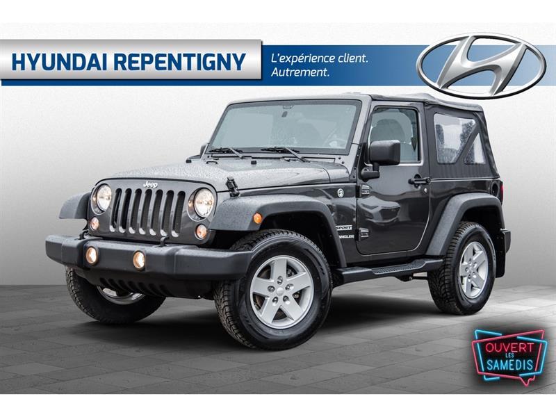 Jeep Wrangler 2017 4WD  Sport