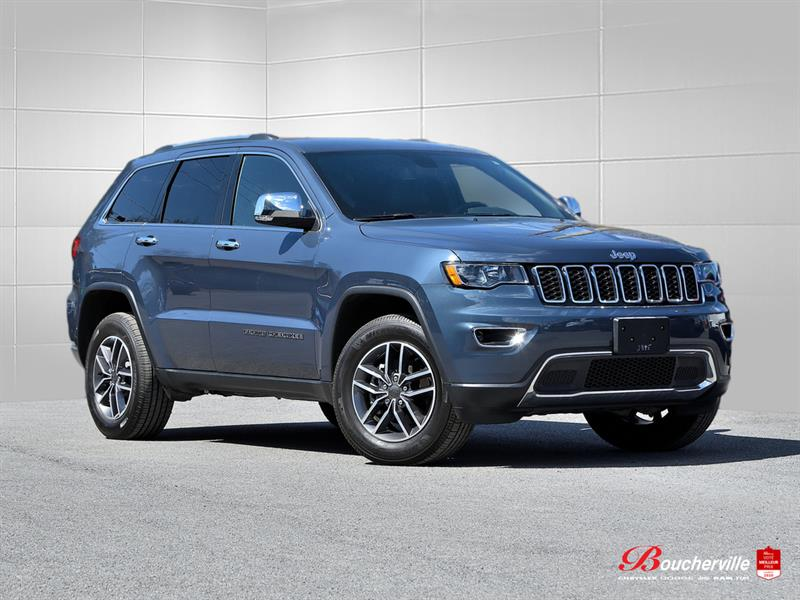 Jeep Grand Cherokee 2020 LIMITED * ANGLES MORT * CUIR *